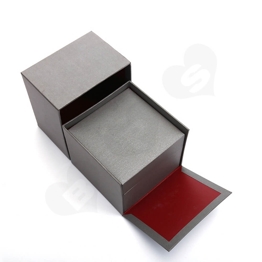Custom Collapsible Watch Box Unit Side View One