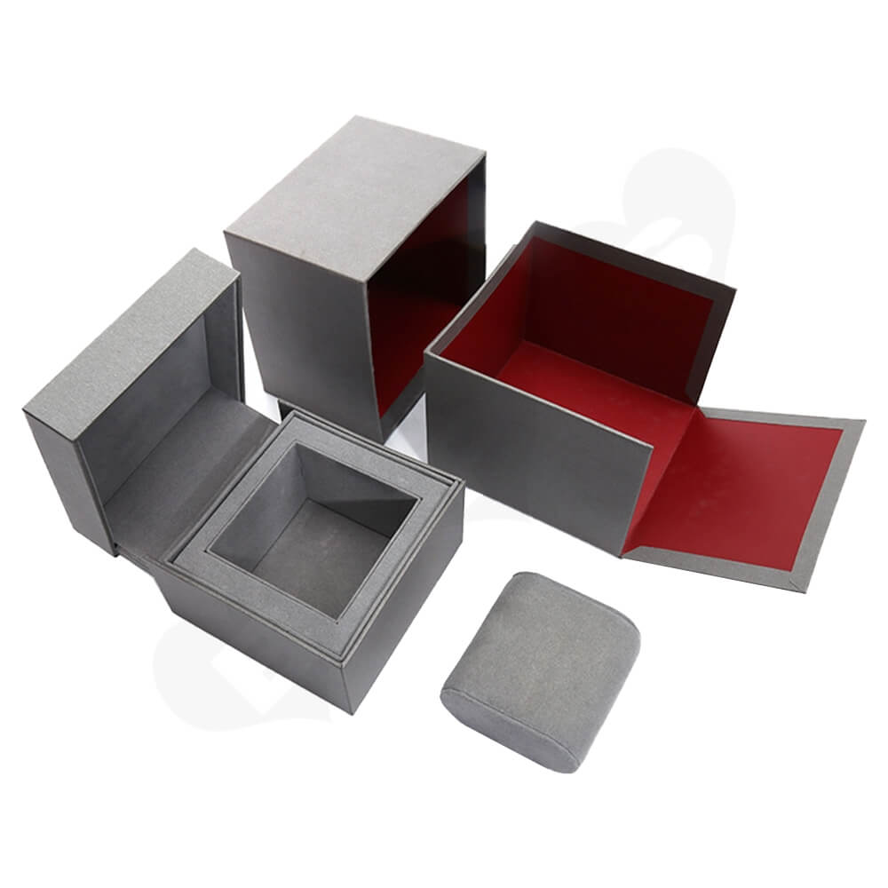 Custom Collapsible Watch Box Unit Side View Three