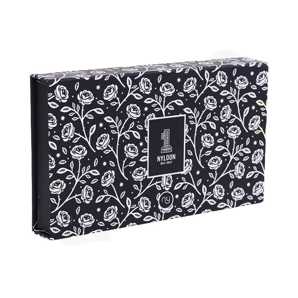 Custom Double Sided Printing Watch Box Side View Two