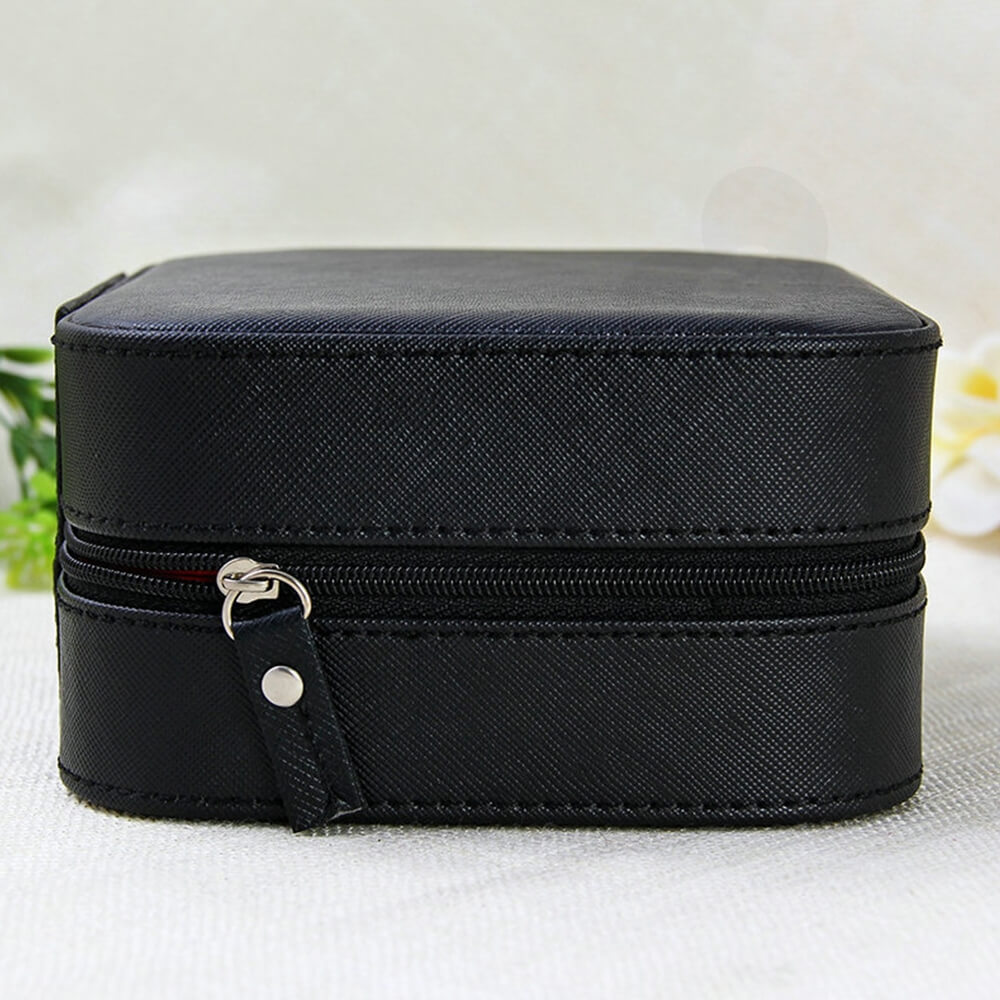 Custom Fabric Suitcase Box For Watch Side View Five