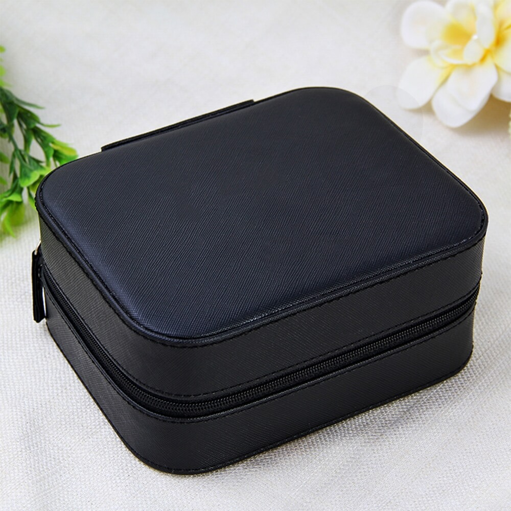 Custom Fabric Suitcase Box For Watch Side View Three
