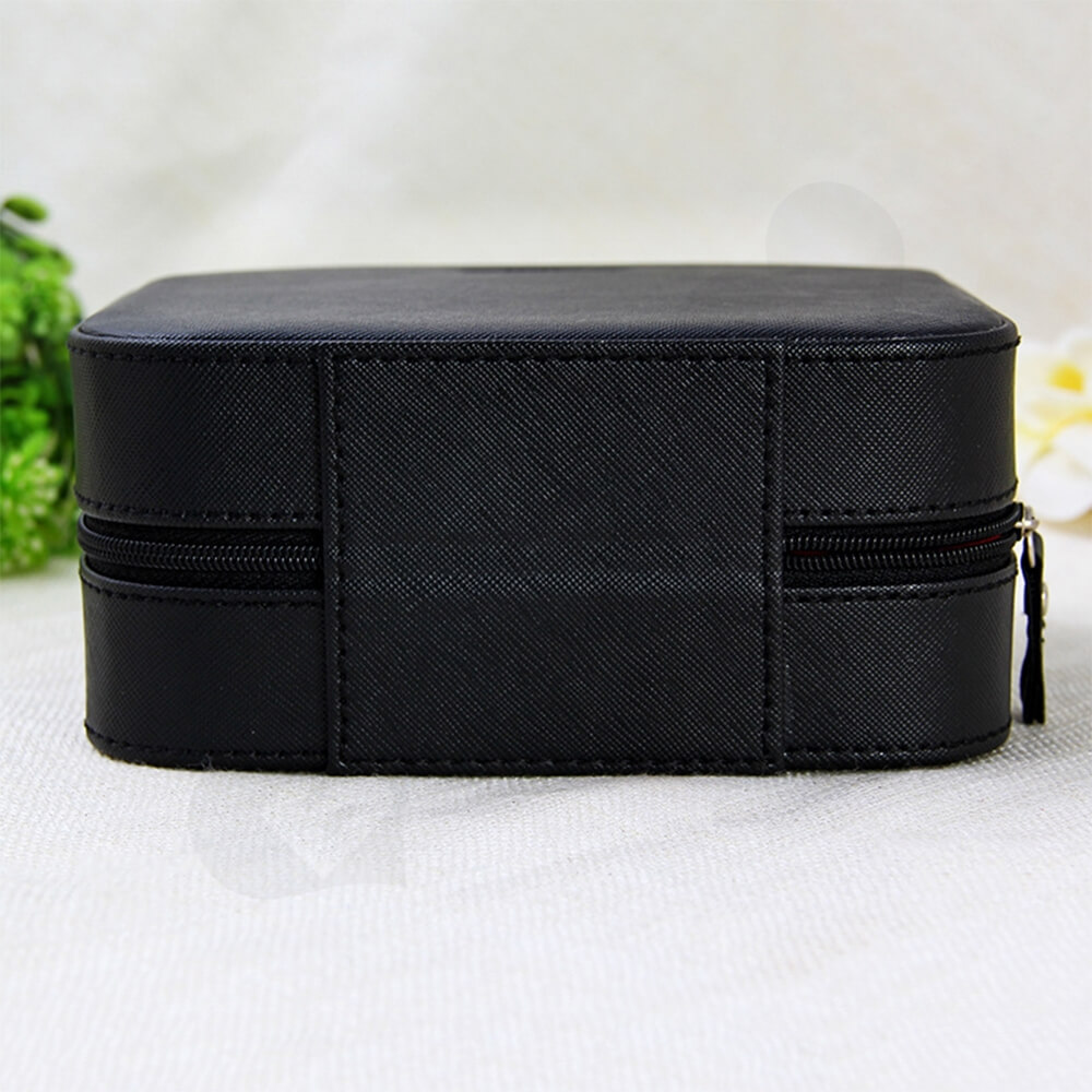 Custom Fabric Suitcase Box For Watch Side View Two