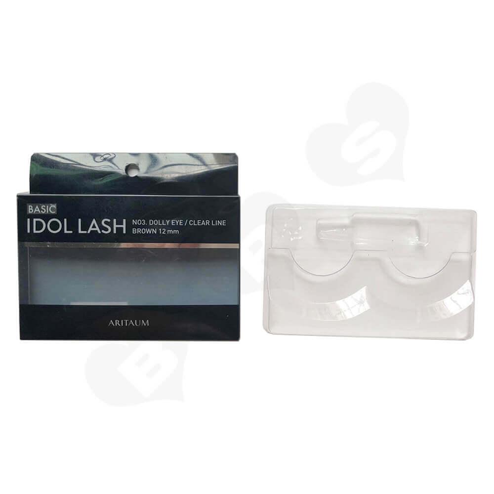 Custom Folding Box For Eyelash Side View Two