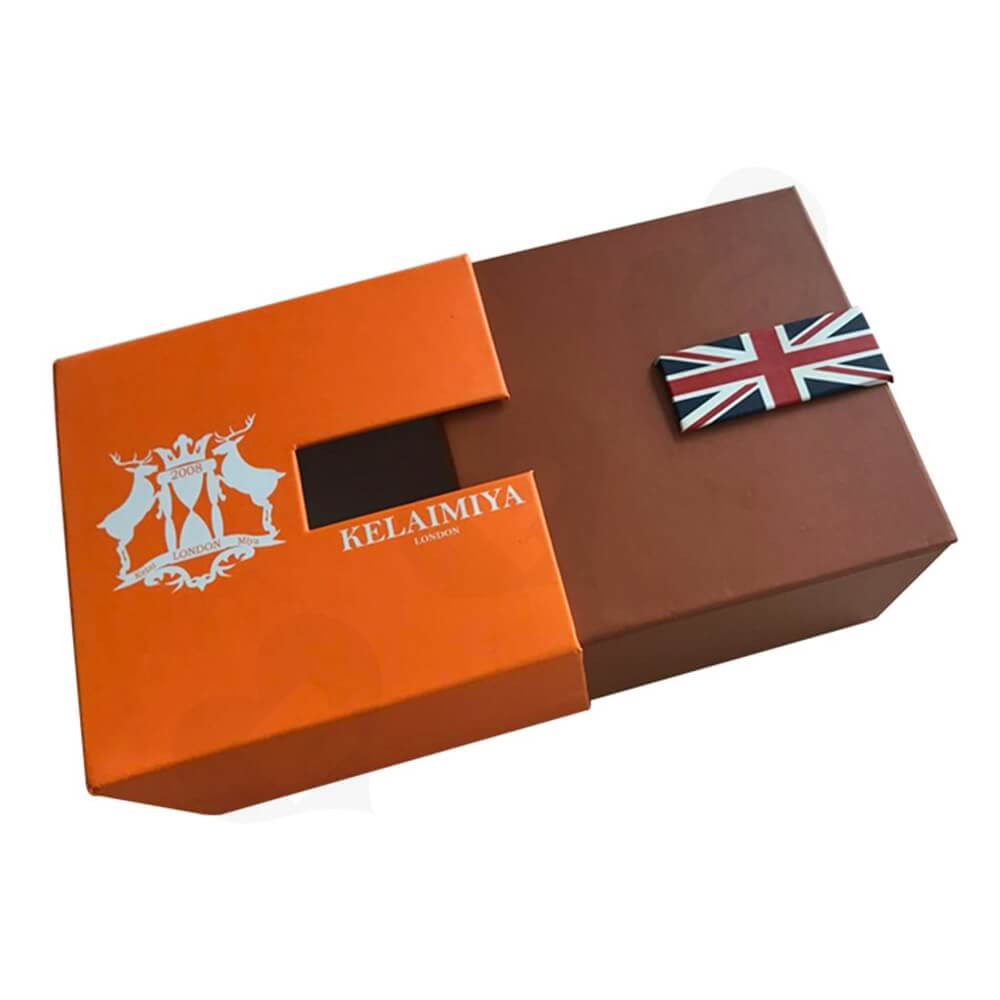 Custom Gift Box With Sleeve For Smart Watch Side View One