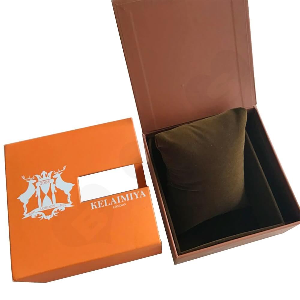 Custom Gift Box With Sleeve For Smart Watch Side View Three