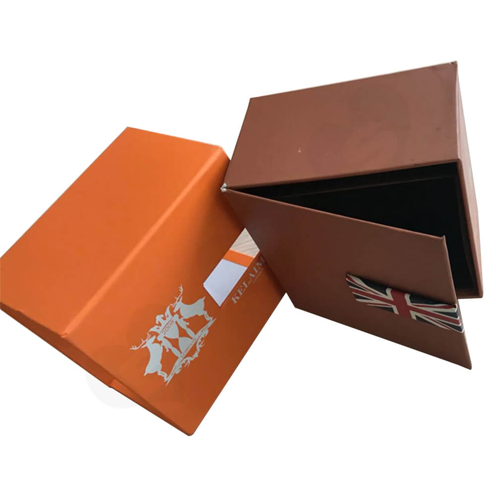 Custom Gift Box With Sleeve For Smart Watch Side View Two