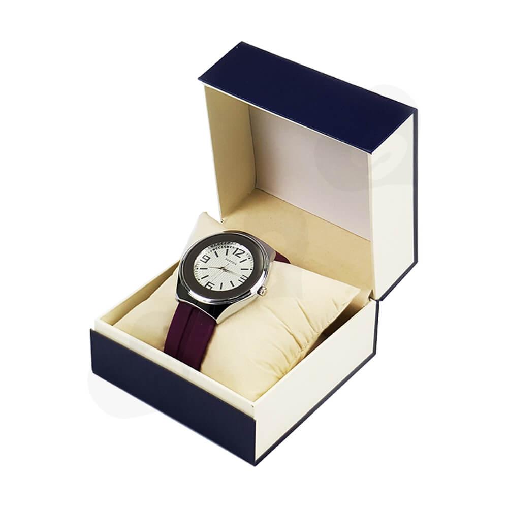 Custom Magnetic Closure Watch Box Side View Five