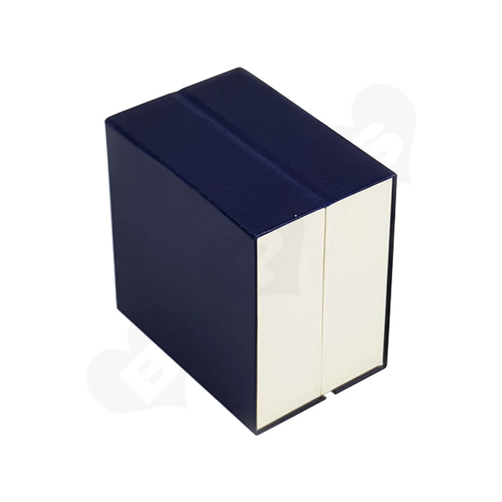 Custom Magnetic Closure Watch Box Side View Four