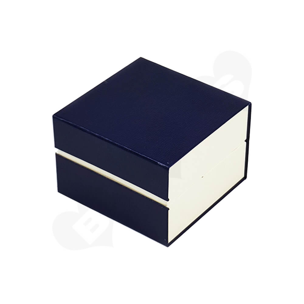 Custom Magnetic Closure Watch Box Side View Two