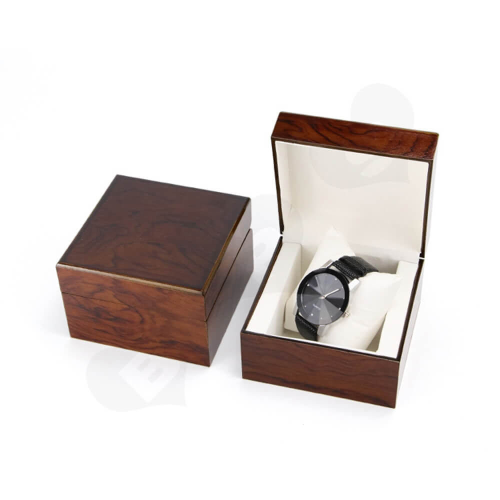 Custom Painted Timber Watch Box Side View Five
