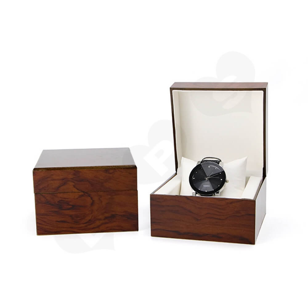 Custom Painted Timber Watch Box Side View Four