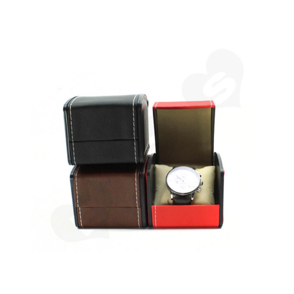 Custom Printed Unique Shape Watch Box Side View Four