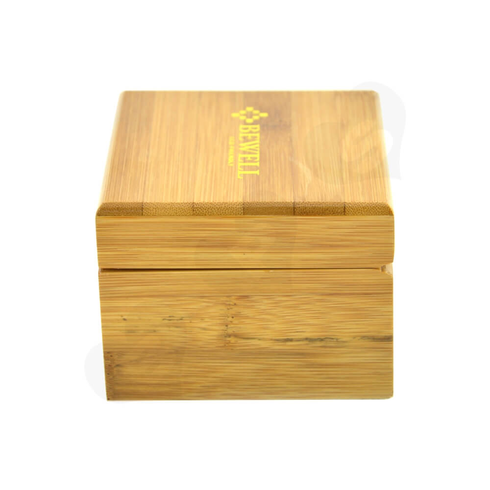Custom Printed Wooden Case Box For Watch Side View Five