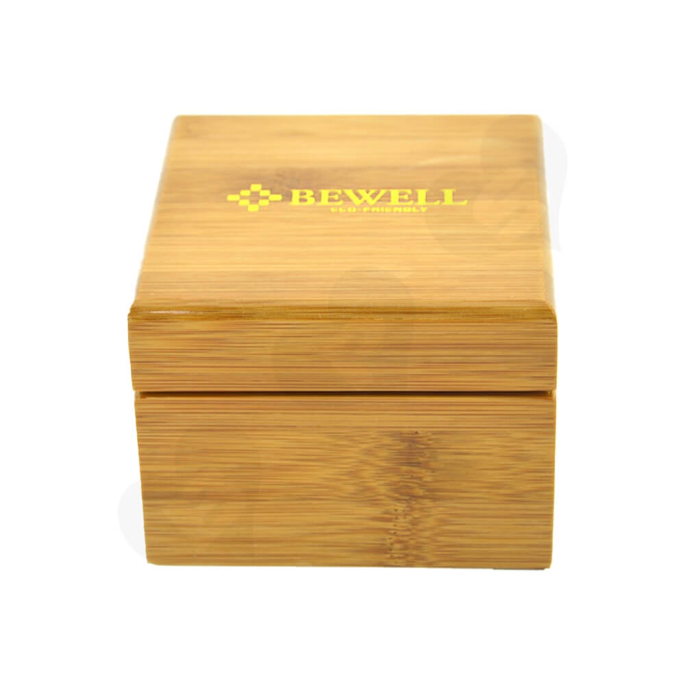Custom Printed Wooden Case Box For Watch Side View Three