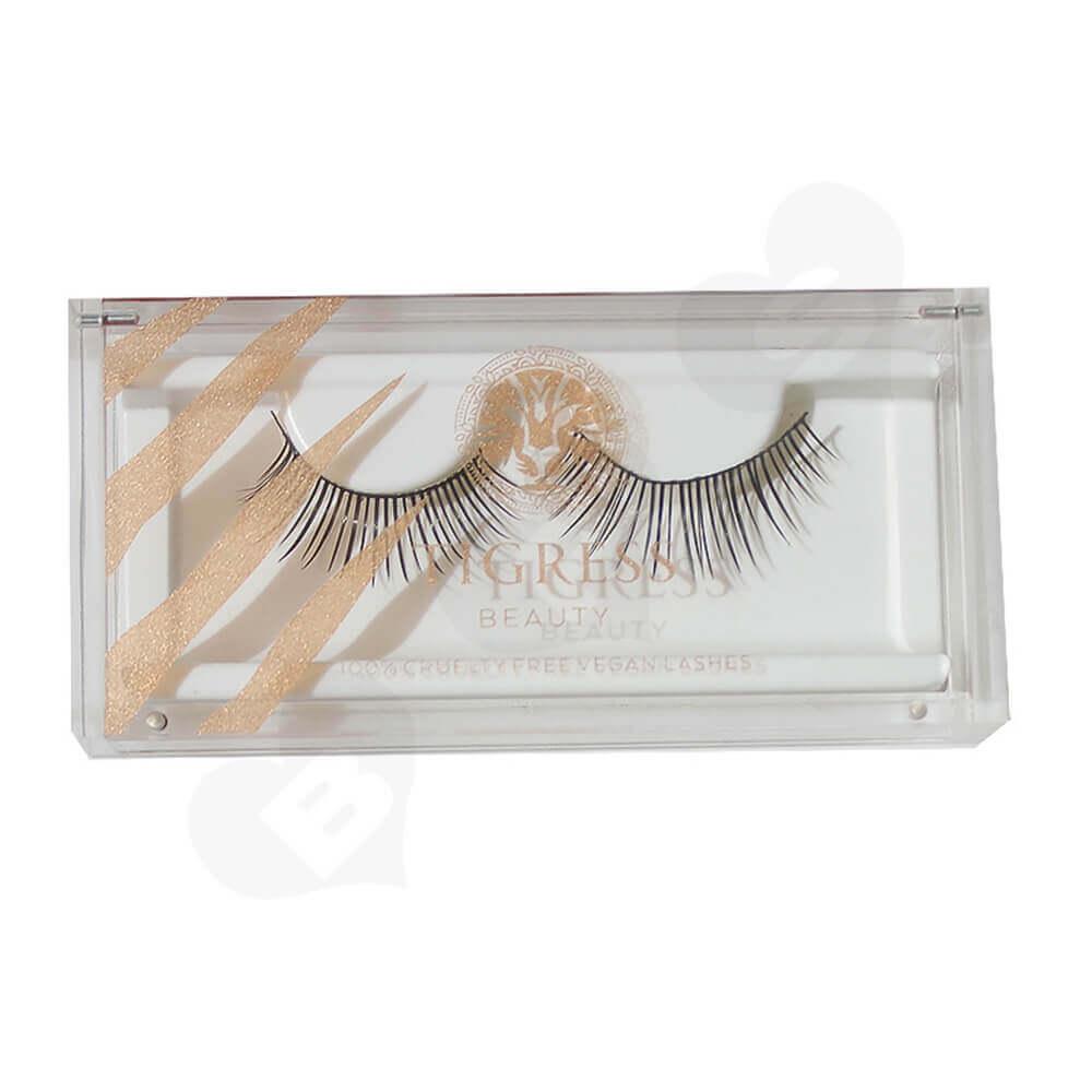 Custom Printing Acrylic Eyelash Box Side View Five