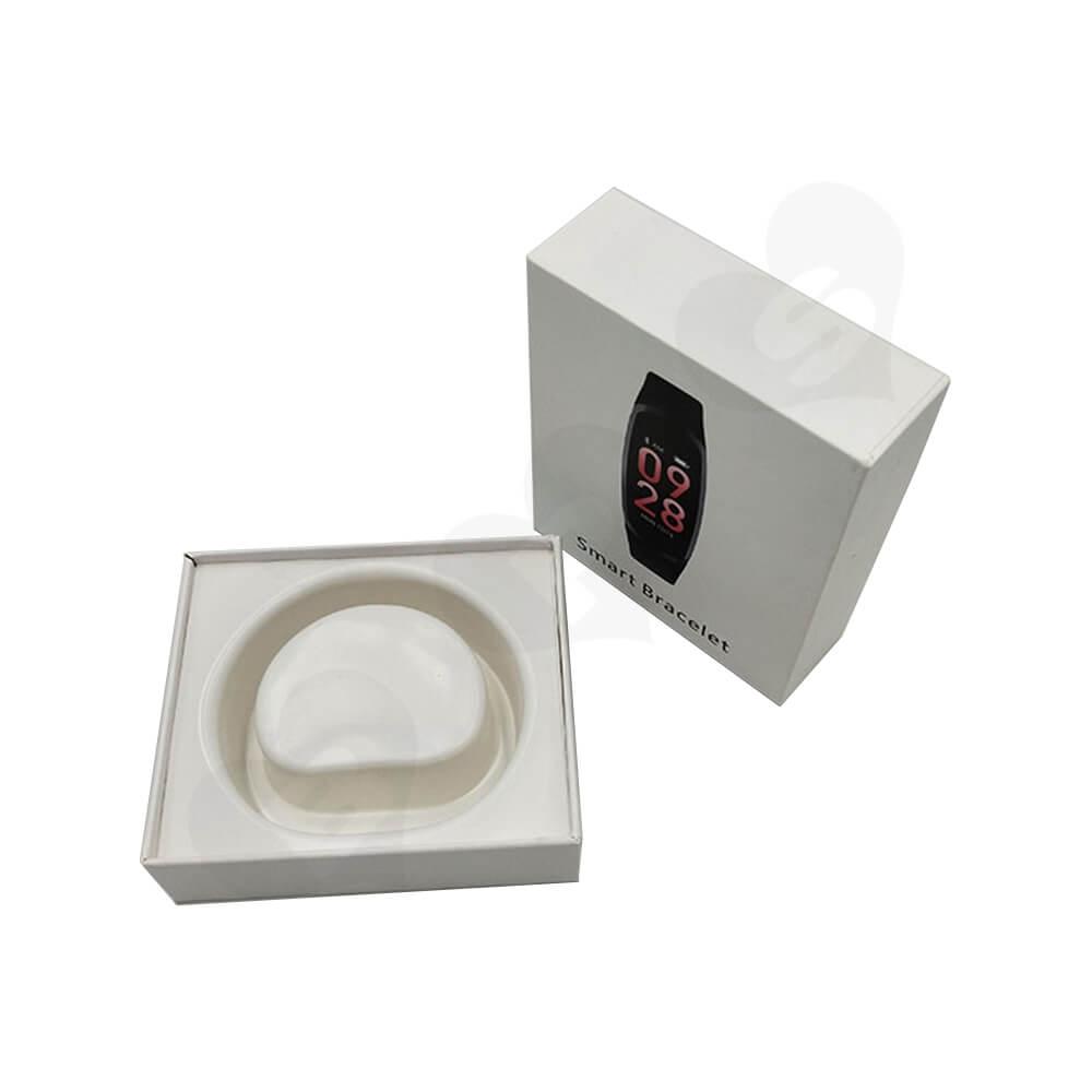 Custom Rigid Box For Smart Bracelet Watch Side View Five