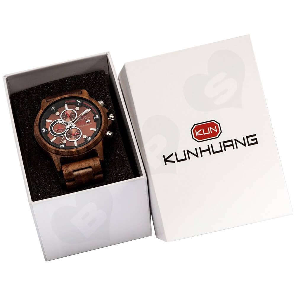 Customized Cheap Watch Box Side View Five