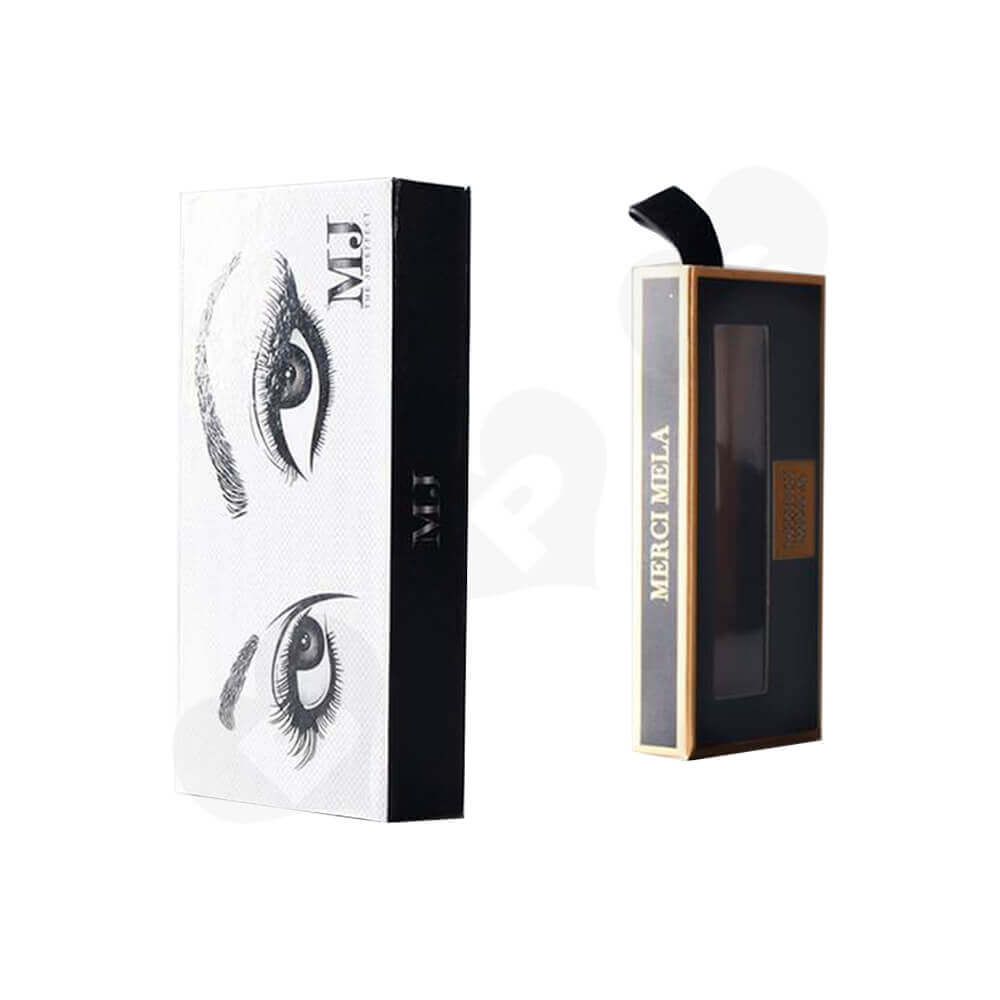 Double Sided Printing Eyelash Gift Box Packaging Side View Five