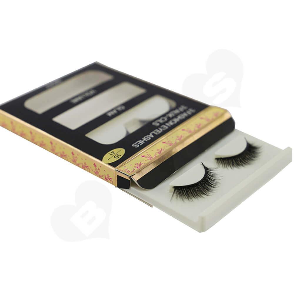 Eyelash Kits Packaging Box Side View Two