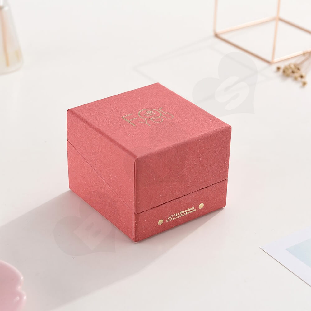 Foil Stamped Watch Box With Branded Logo Side View Five