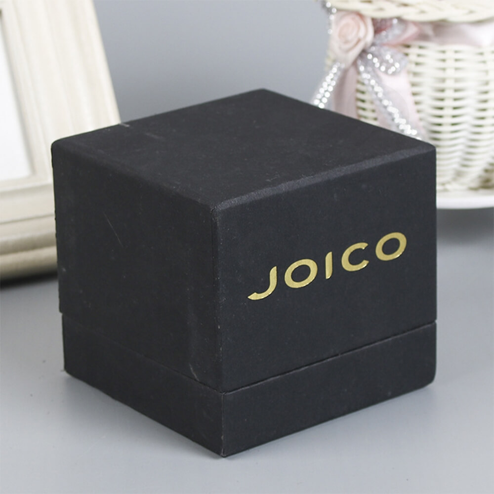 Gold Foil Stamped Watch Box Customizable Side View Two
