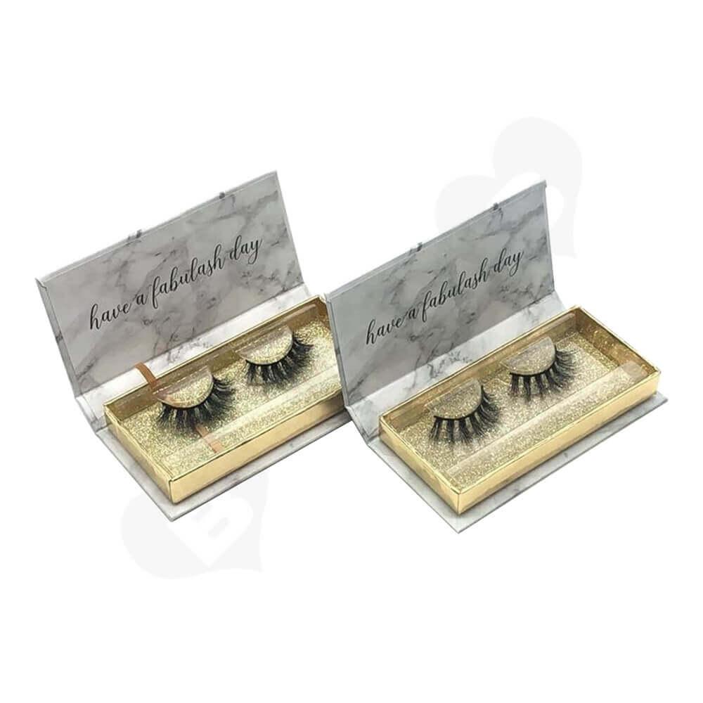 High Quality Eyelash Packing Box Side View Two