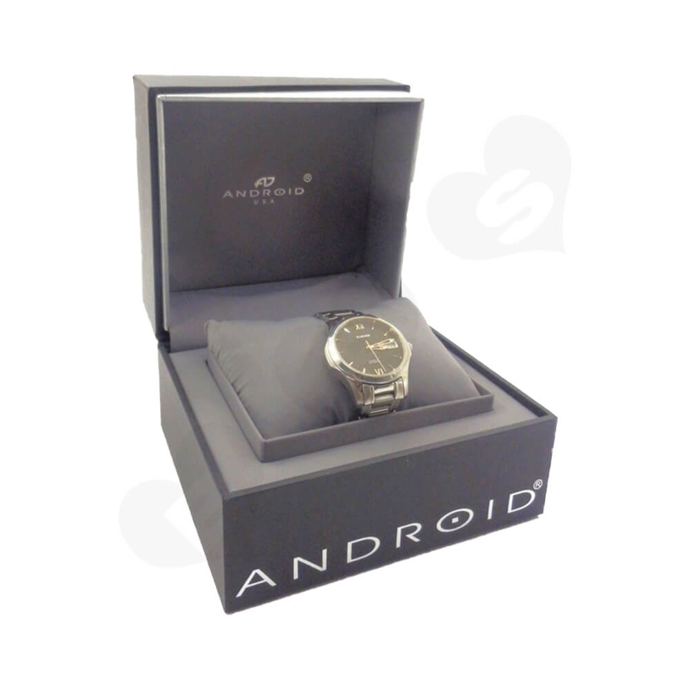 High Quality Gift Box For Wrist Watch Side View Four