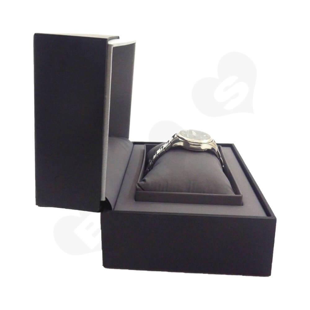 High Quality Gift Box For Wrist Watch Side View Three