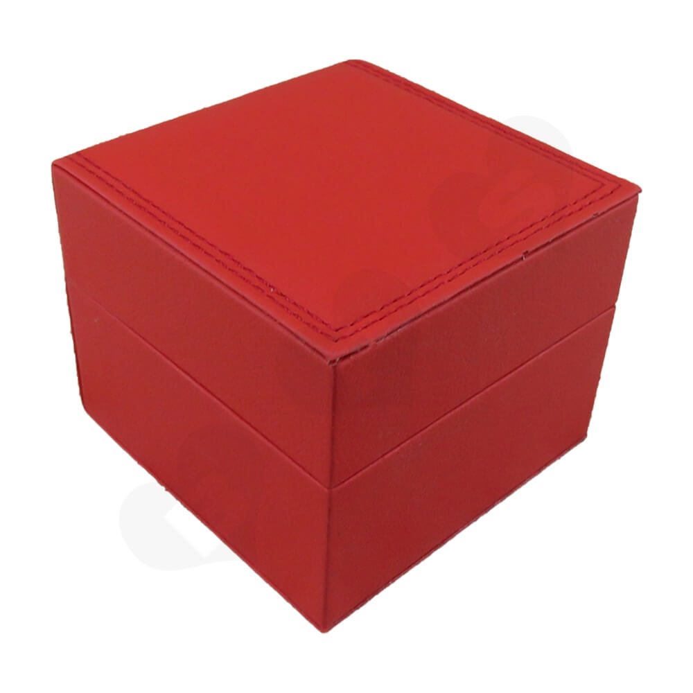 High Quality Watch Box With Litchi Pattern Side View Five