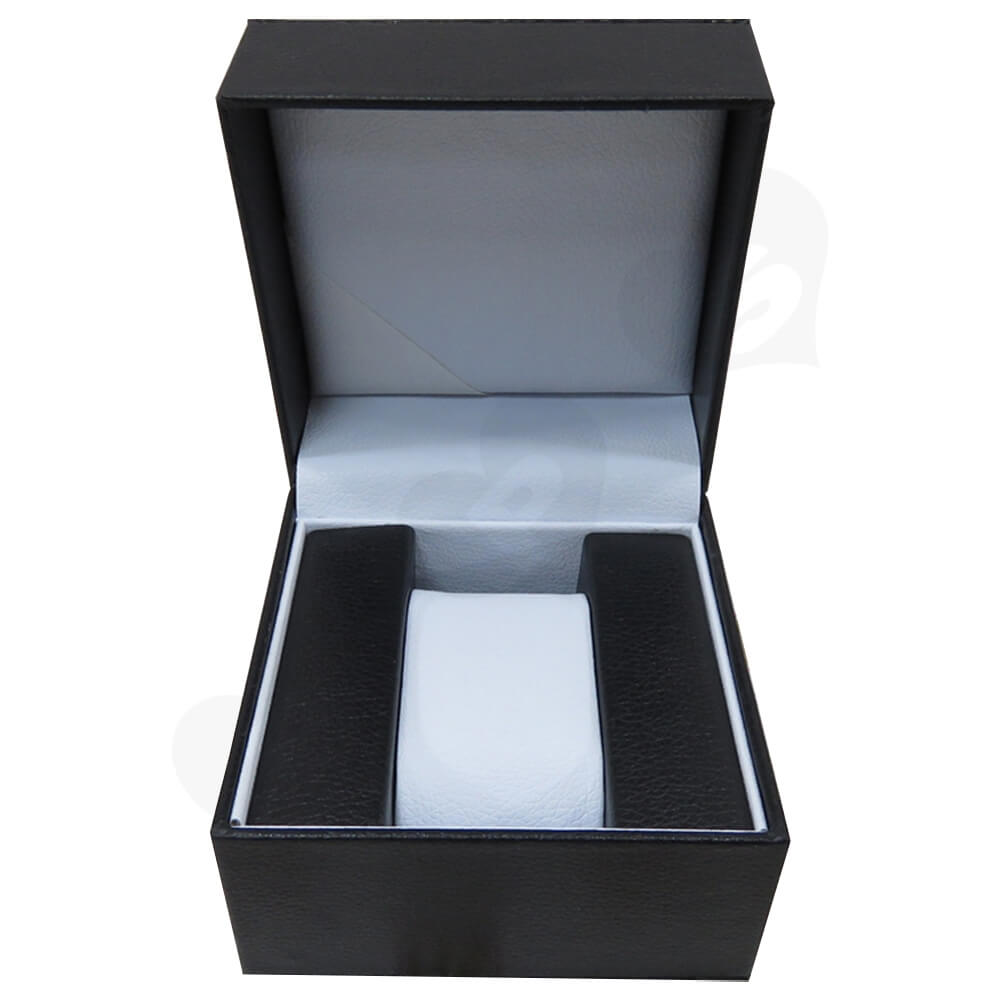 High Quality Watch Box With Litchi Pattern Side View Four