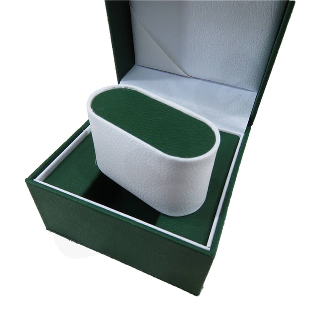 High Quality Watch Box With Litchi Pattern Side View Two