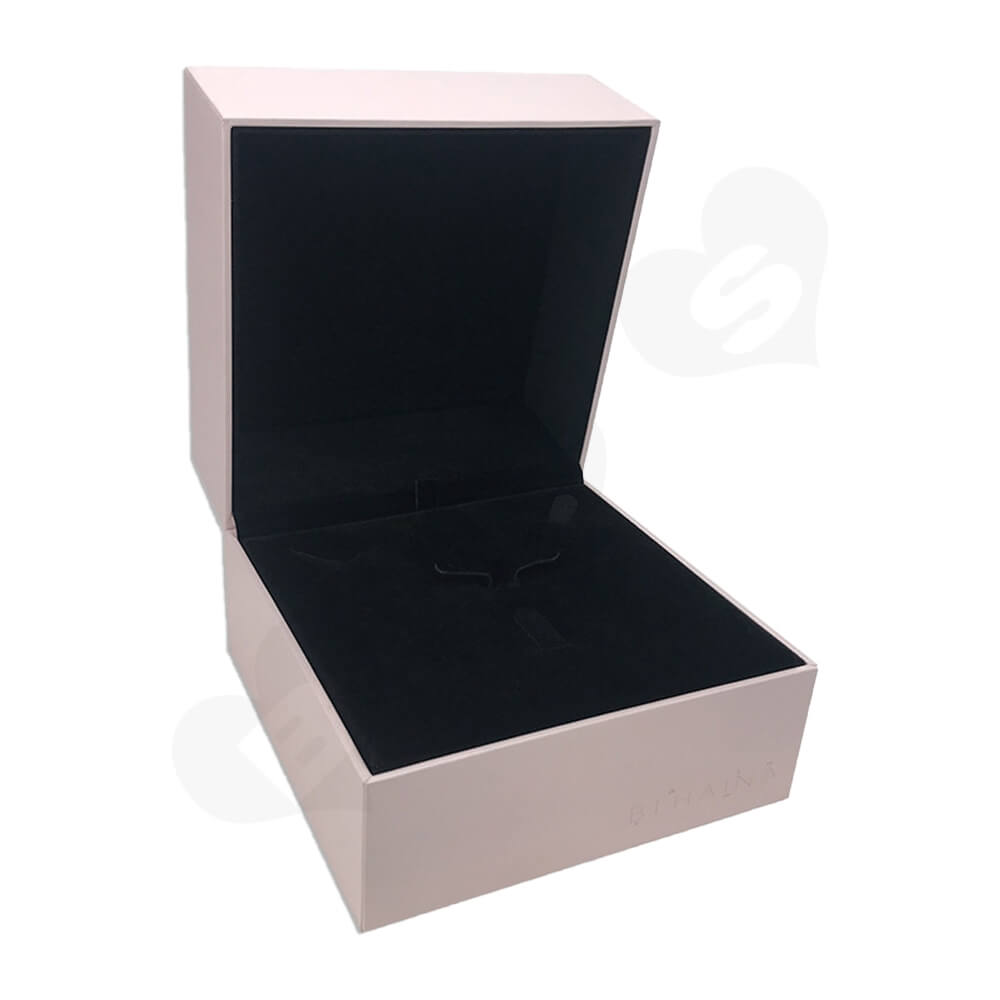 Personalized Gift Packaging Box For Watch Side View Five