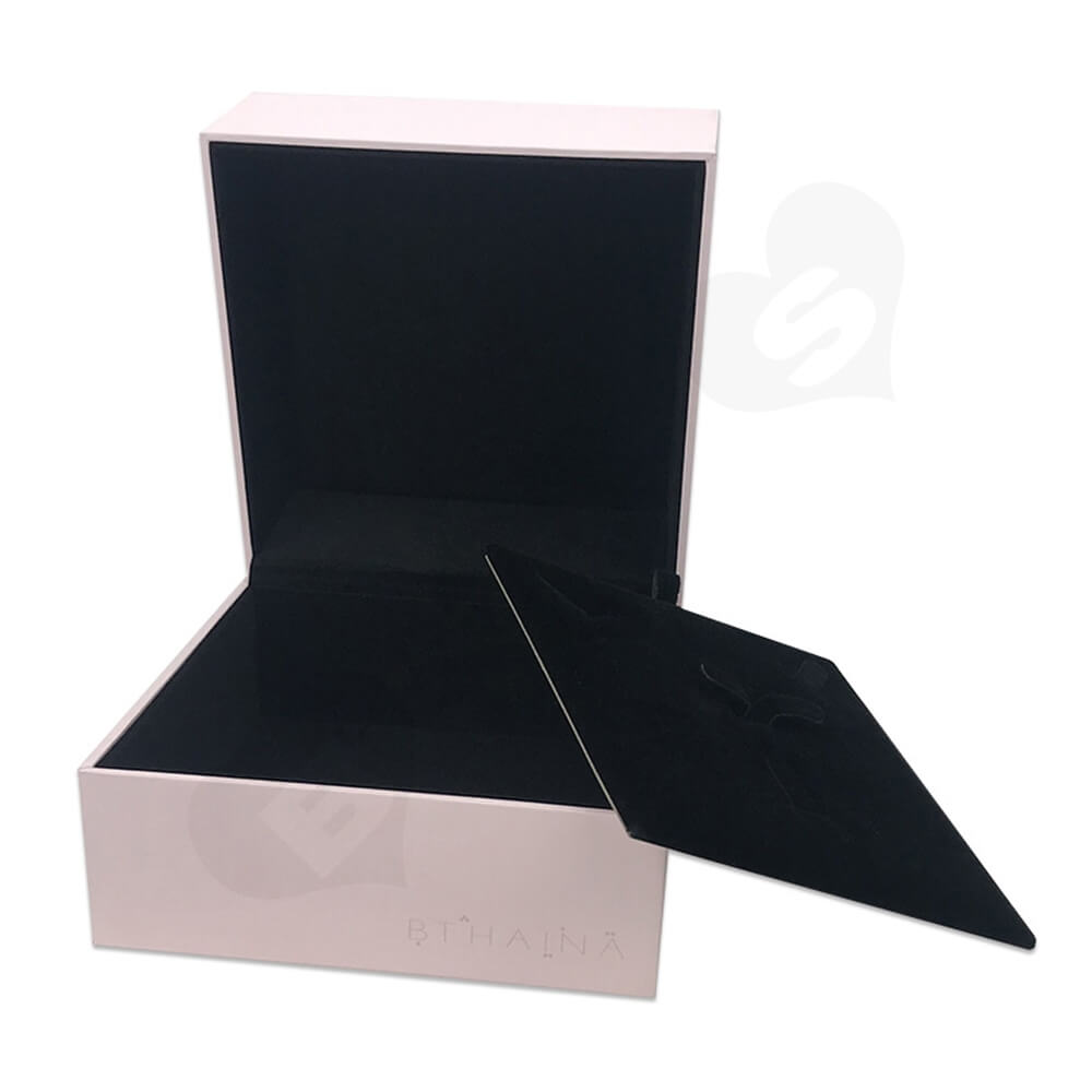 Personalized Gift Packaging Box For Watch Side View Four