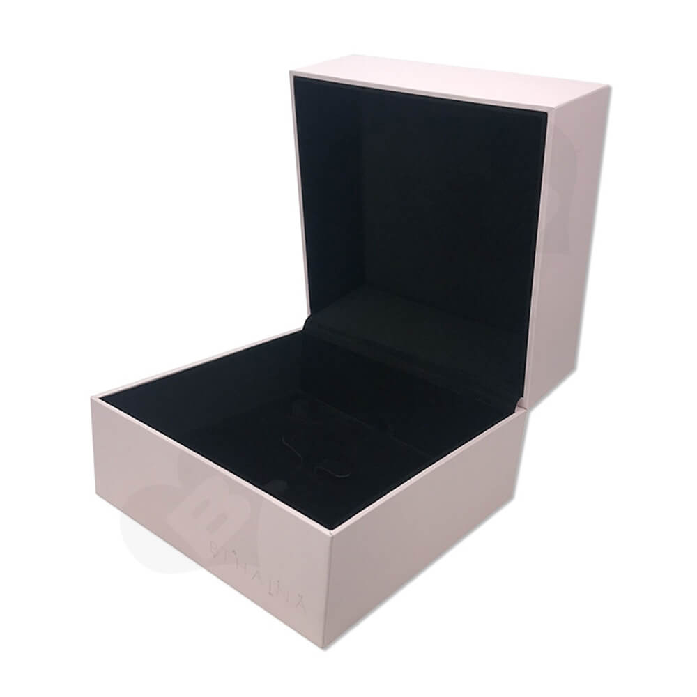 Personalized Gift Packaging Box For Watch Side View One