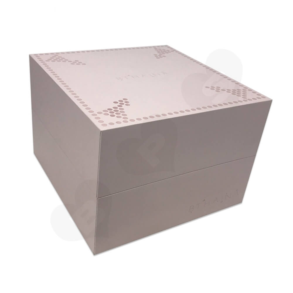 Personalized Gift Packaging Box For Watch Side View Three