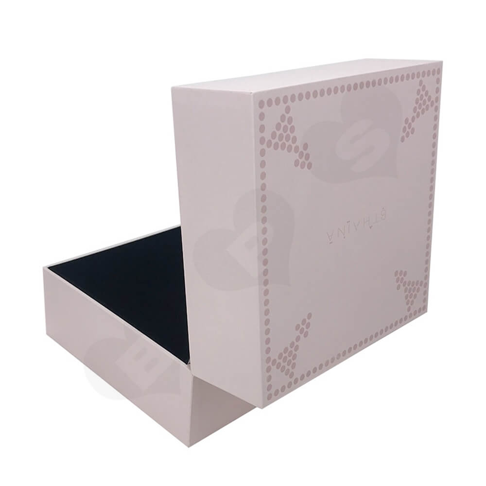 Personalized Gift Packaging Box For Watch Side View Two