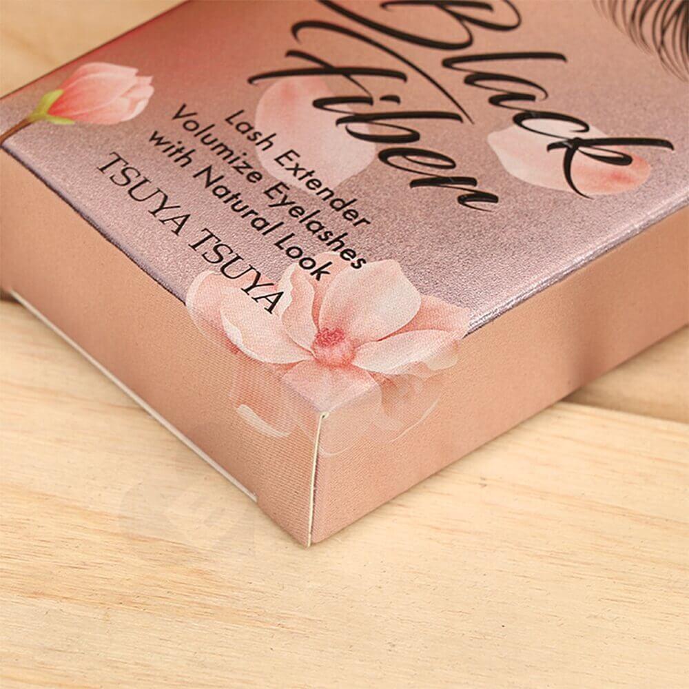 Reverse UV Printed Eyelash Box Side View Five