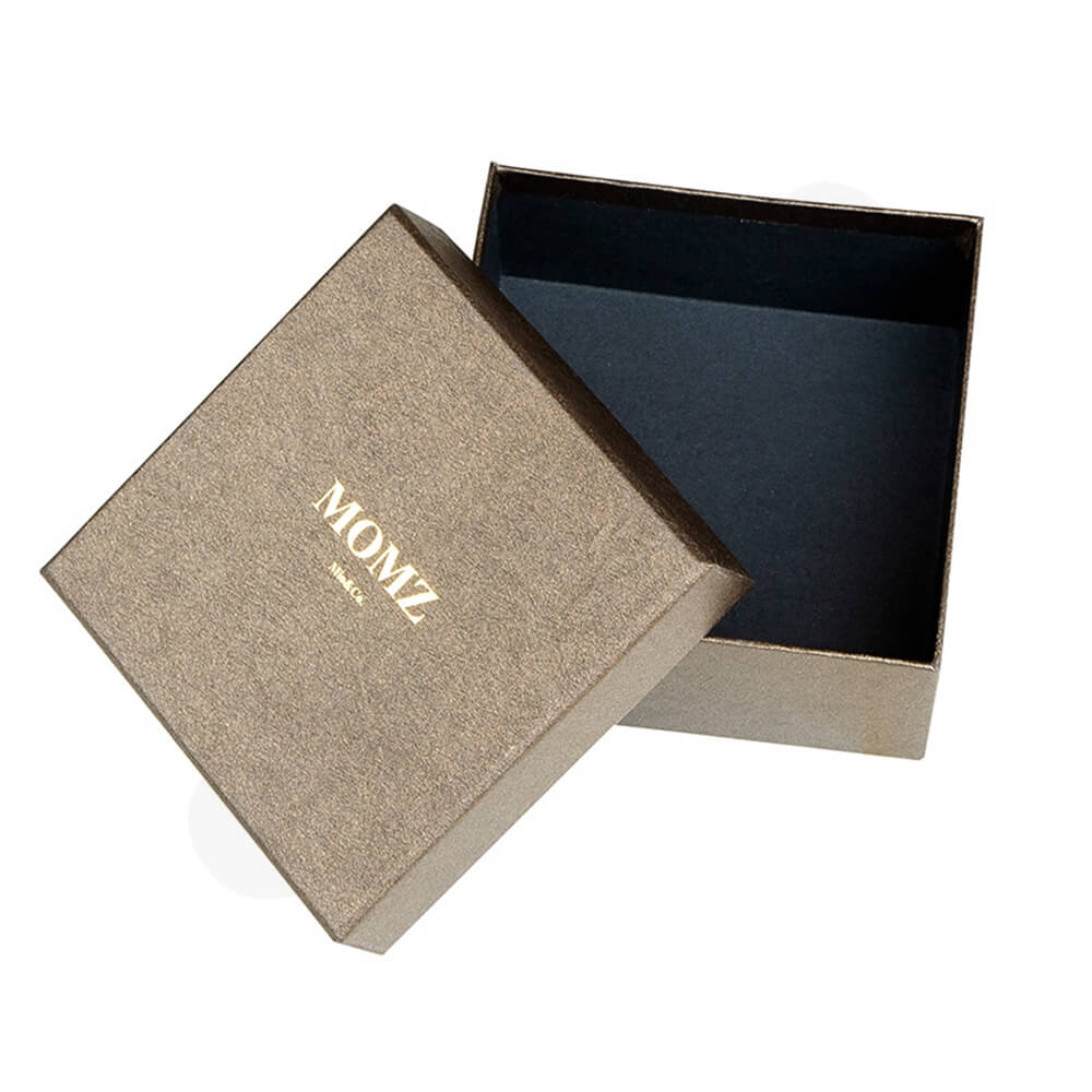 Specialty Paper Coated Cardboard Watch Box Side View Three