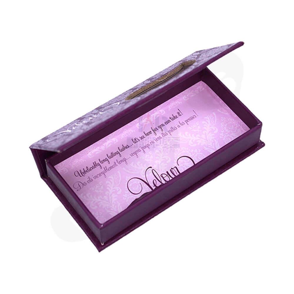 Spot UV Coating Gift Box For Eyelashes Side View Four