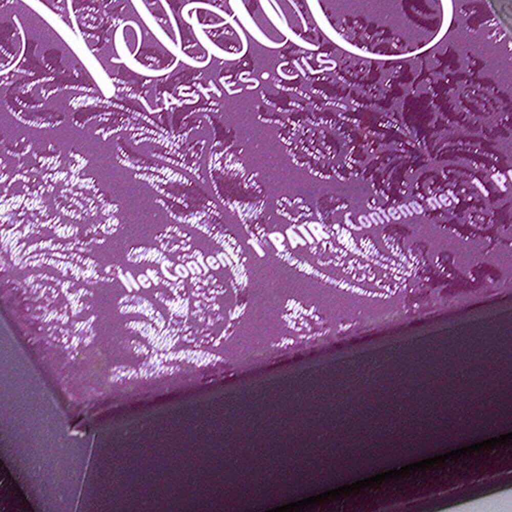 Spot UV Coating Gift Box For Eyelashes Side View Two