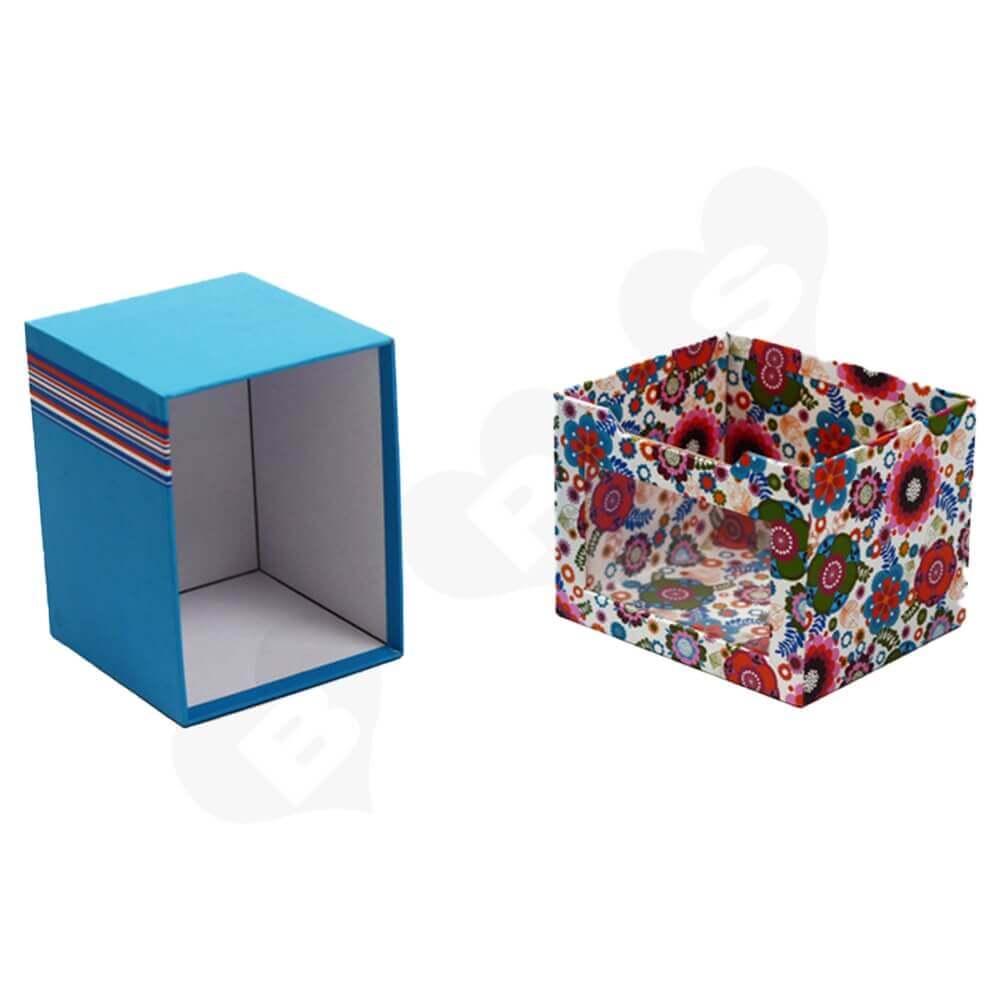 Custom Drawer Box With Window For Mug Side View Three