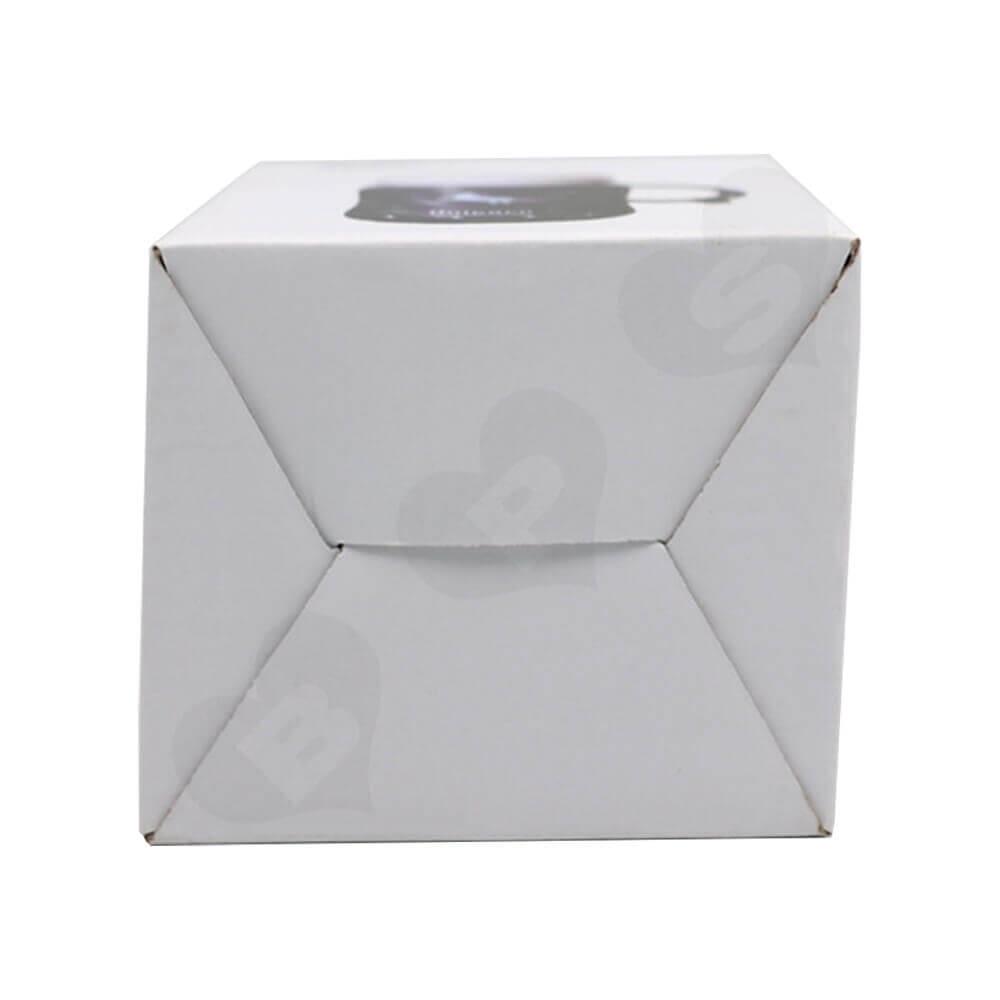 Custom Folding Carton For Ceramic Cup Side View Four