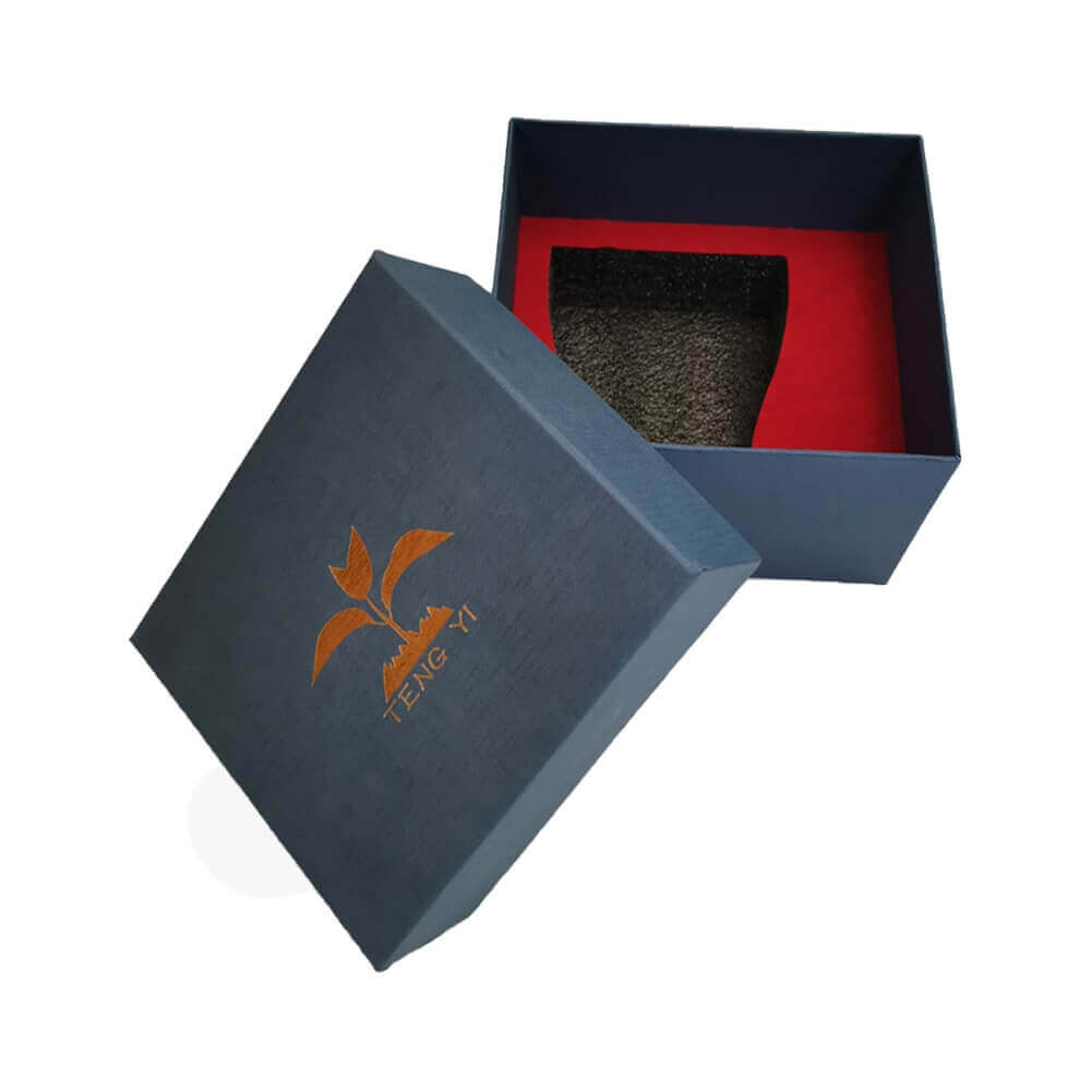 Custom Gift Boxea With Texture For Mug Side View Five