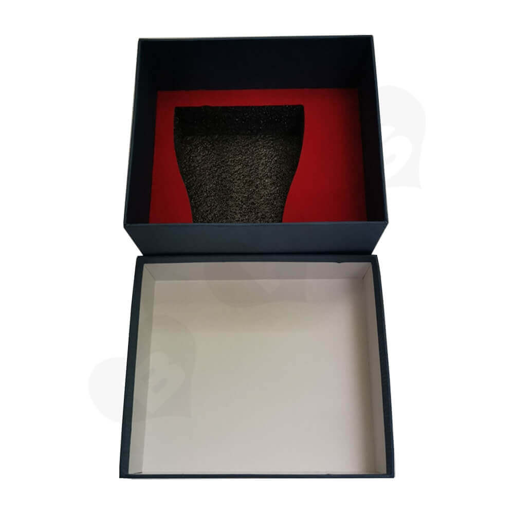 Custom Gift Boxea With Texture For Mug Side View Three