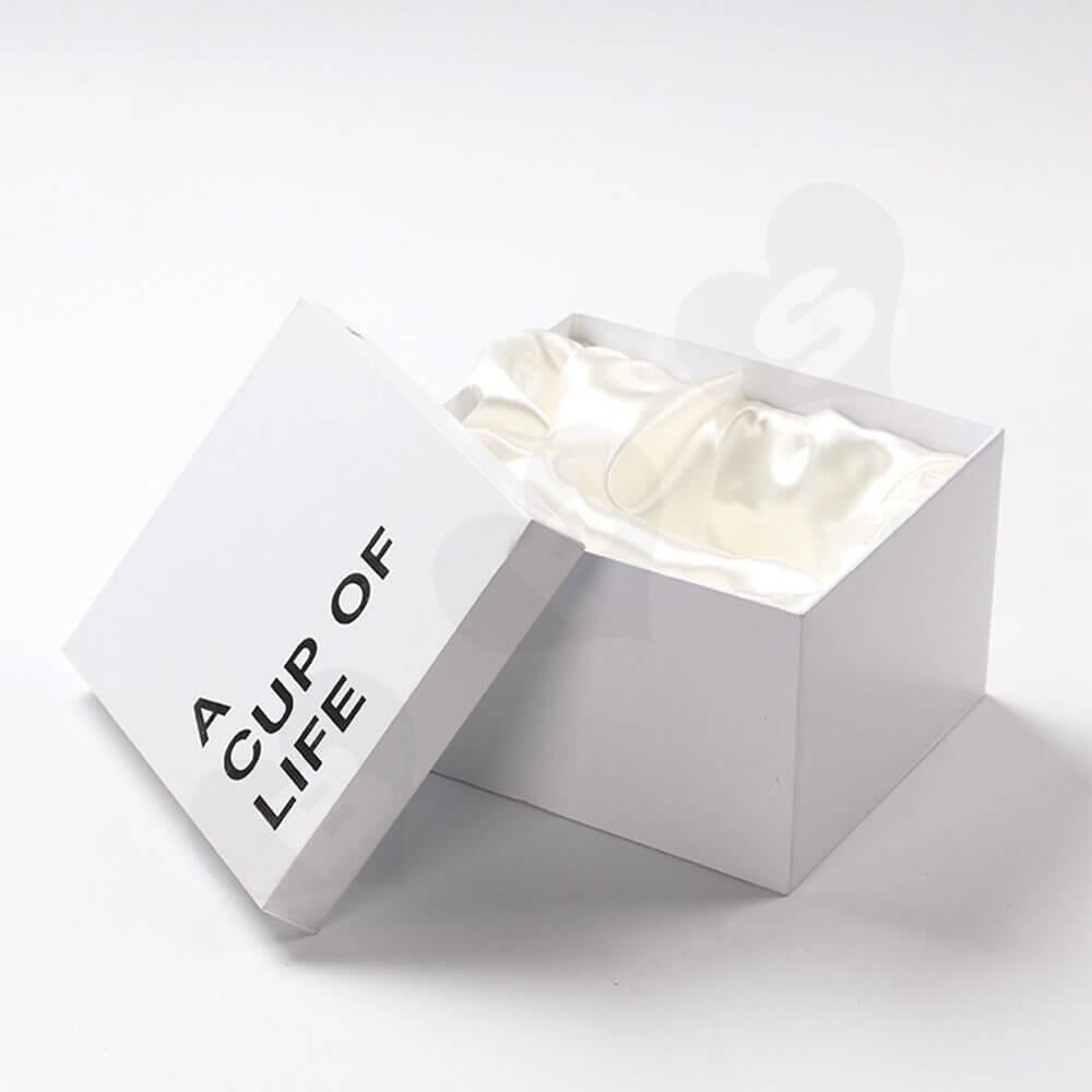 Custom Mug Cup Packaging Boxes Bags Side View Six
