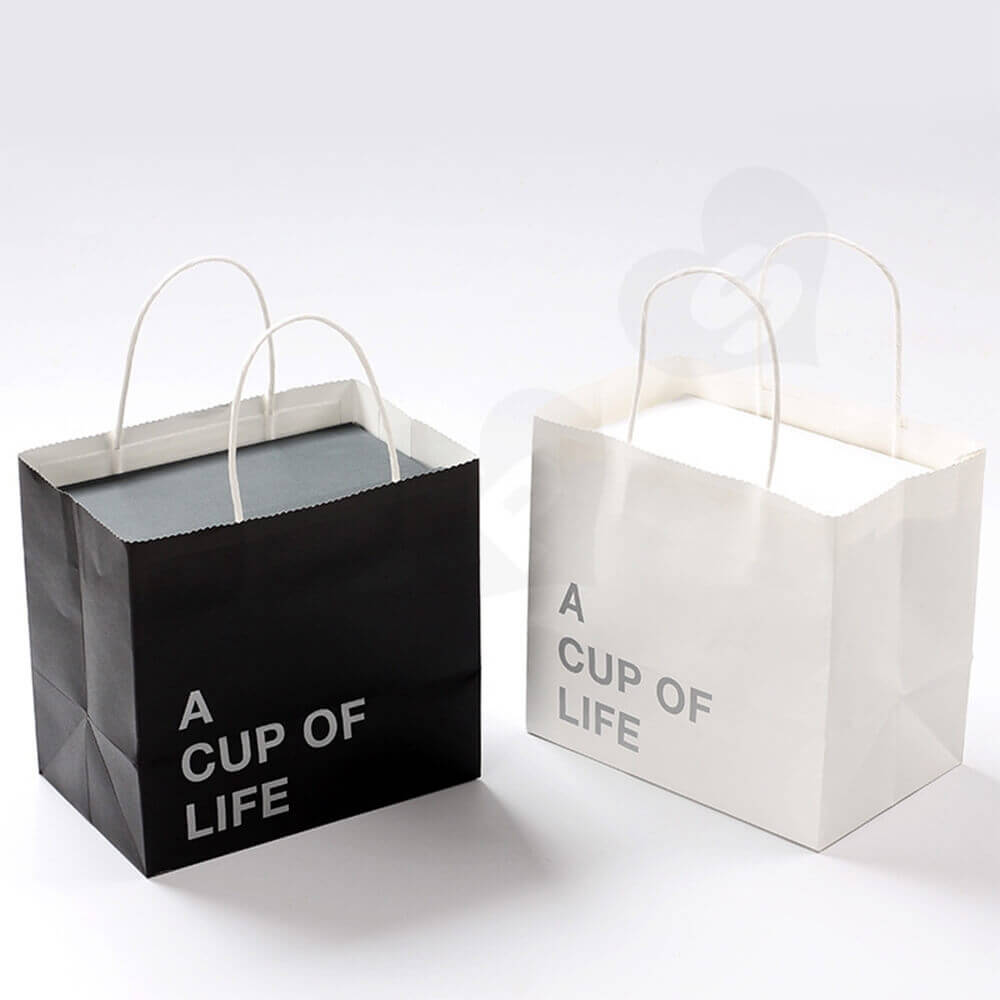 Custom Mug Cup Packaging Boxes Bags Side View Two