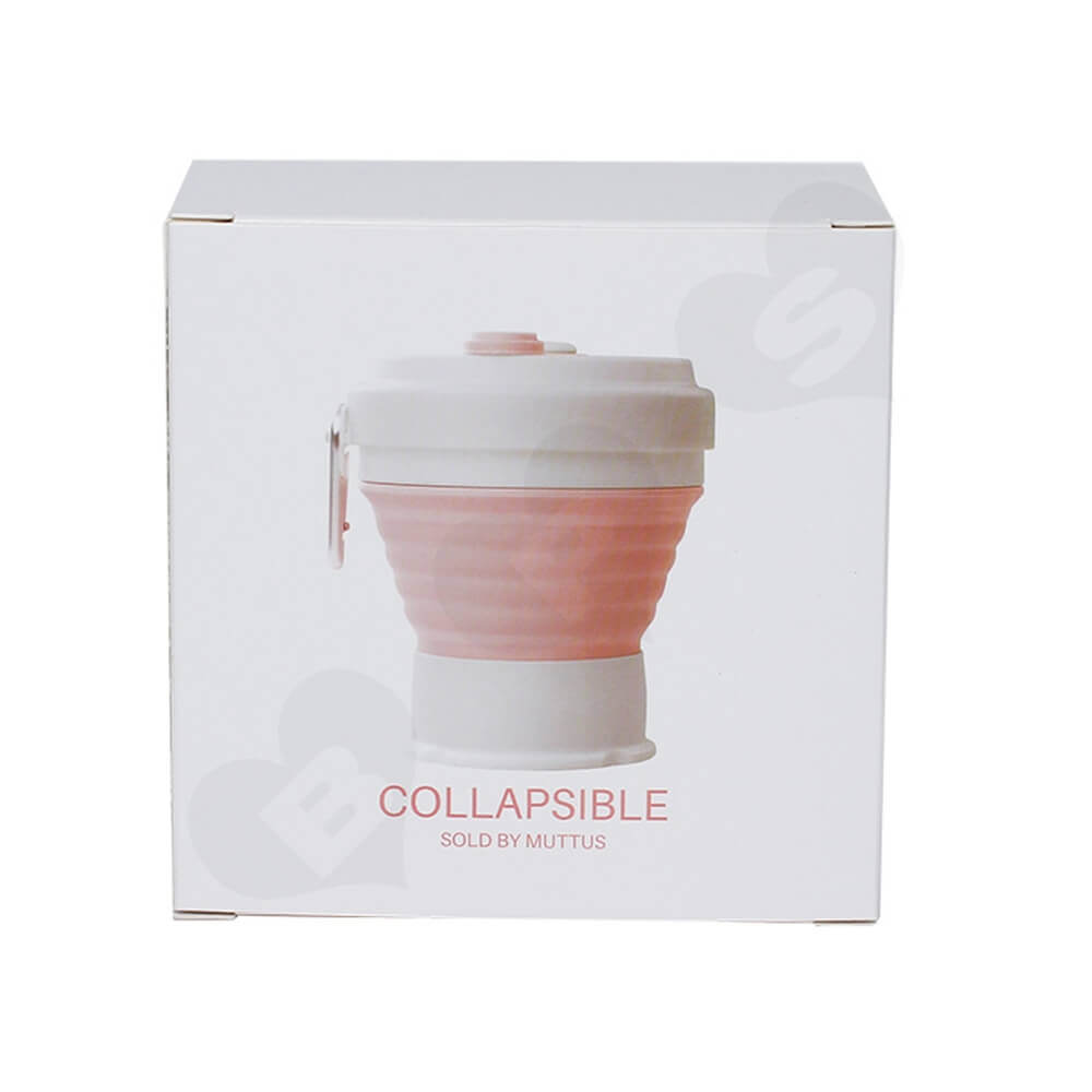 Custom Packaging Box For Collapsible Mug Side View Five