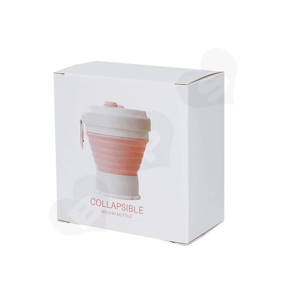 Custom Packaging Box For Collapsible Mug Side View Two