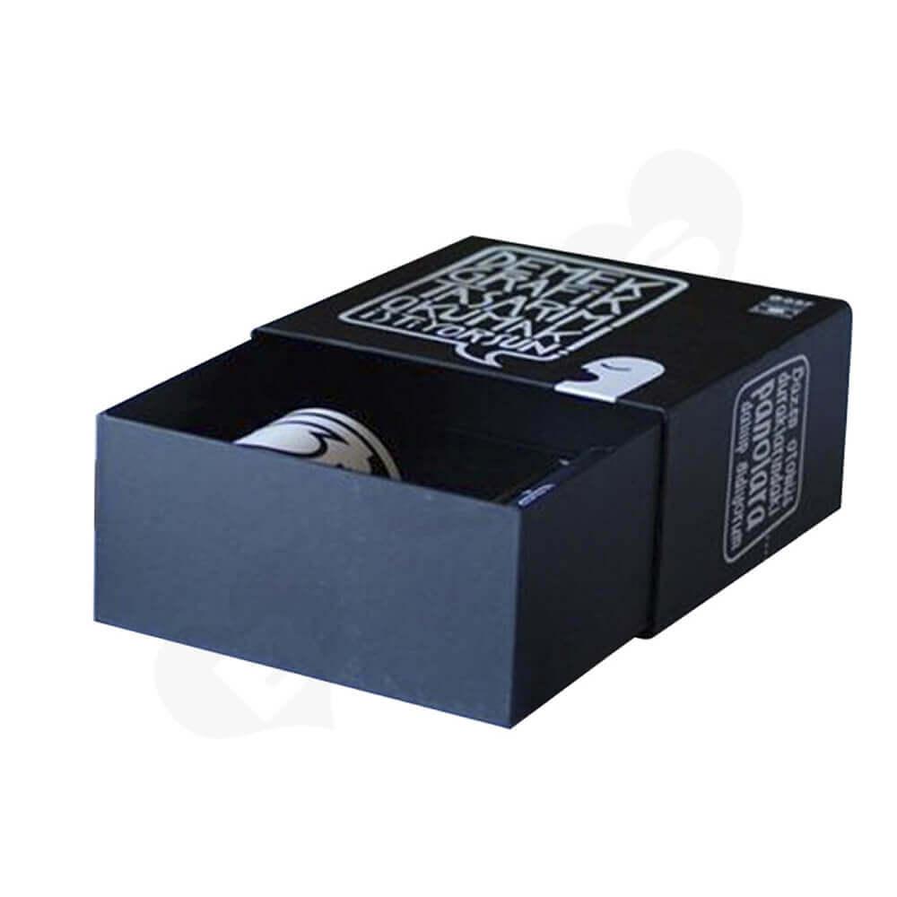 Custom Printed Sliding Mug Box Side View One