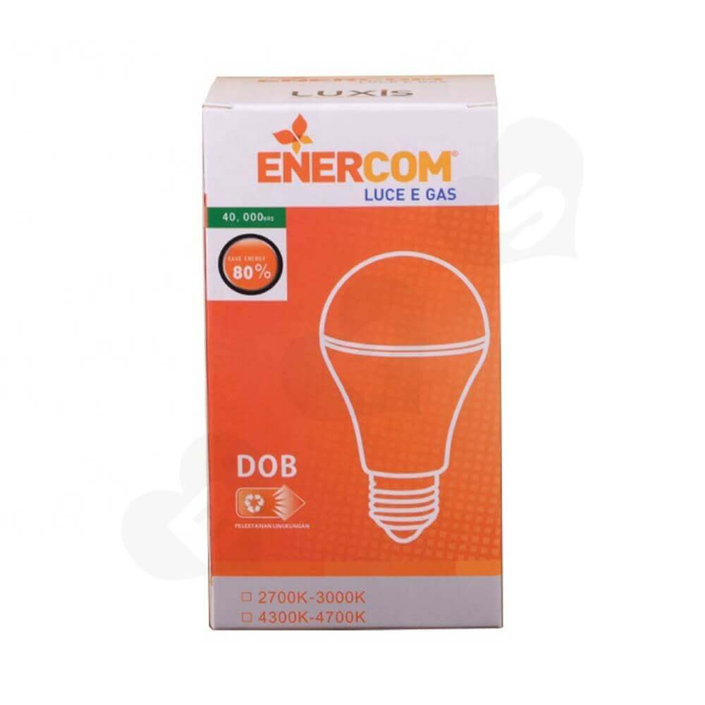 Energy Saving LED Bulb Packaging Box Side View Five